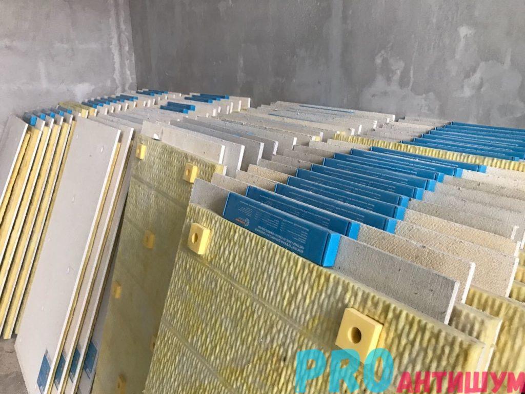 материал для бескаркасной шумоизоляции стен