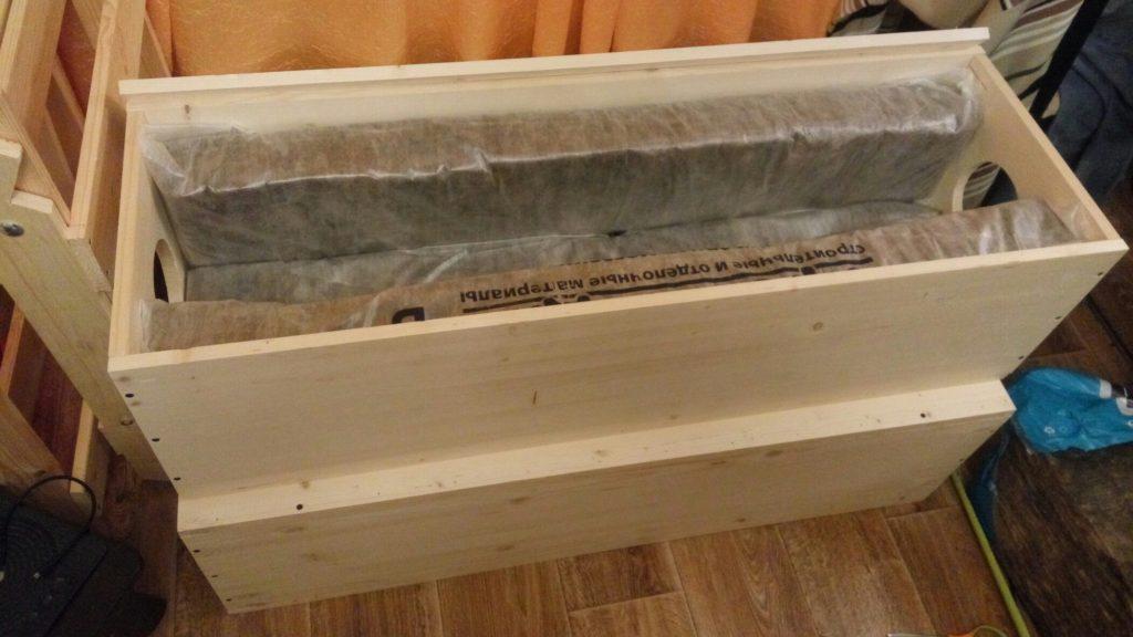 Деревянный бокс для асика