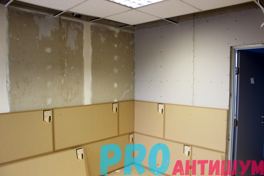 Фото: Обшивка стен для улучшения шумоизоляции. Автор: Роман Рыбкин