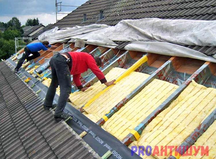 Фото: Шумоизоляция крыши. Автор: Дмитрий Костев