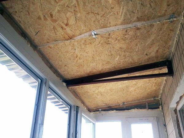 шумка крыши балкона