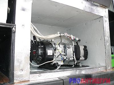 Фото: Ящик шумопоглощающий для генератора. Фото: Артемий Иванов