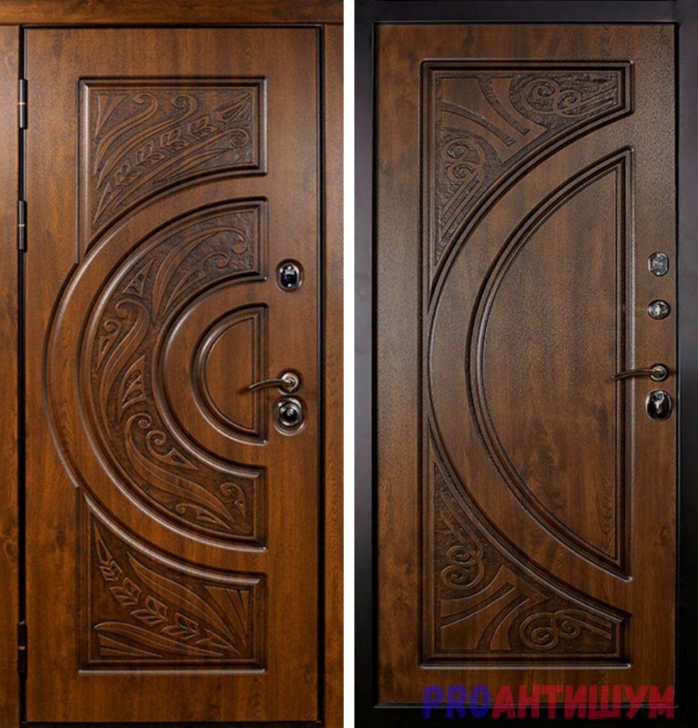 Фото: Вариант входной второй двери из МДФ. Автор: Ксения Болканская